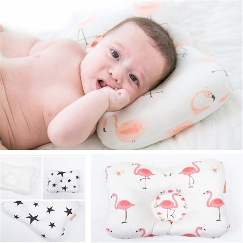 Baby Pillow Prevent Flat Head Shaping Pillow For Baby Nursing Pillow For Newborns Baby Room Decoration Photography Props 28*20cm