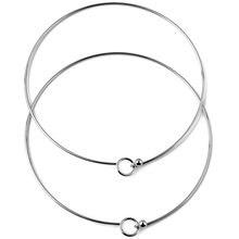 Ожерелье из нержавеющей стали для мужчин и женщин модная Гламурная