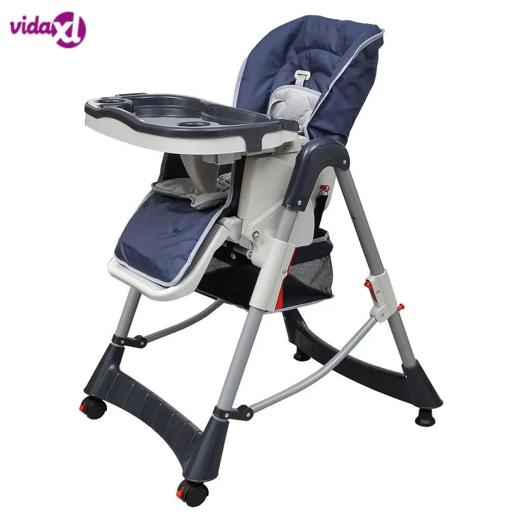 VidaXL 15 Kg Children Chair Comfortable Adjustable Highchair For Baby With Storage Basket Foldable Chair Easy-Clean Furniture V3