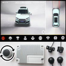 Ondersteuning Hdmi, 2021 3D Key-Koningin Auto 360 Camera Avm Panoramisch Rond View Parking Monitoring Video-opname Dvr Knop Controle