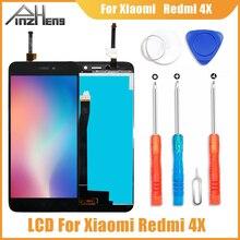 PINZHENG AAAA الأصلي LCD ل شاومي Redmi 4X عرض محول الأرقام بشاشة تعمل بلمس استبدال ل شاومي Redmi 4X LCD شاشة