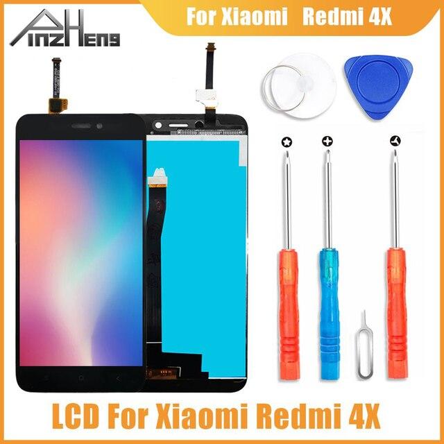 PINZHENG AAAA Original LCD Für Xiaomi Redmi 4X Display Touchscreen Digitizer Ersatz Für Xiaomi Redmi 4X LCD Bildschirm