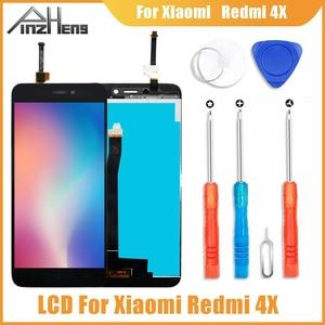 Image 1 - PINZHENG AAAA Original LCD For Xiaomi Redmi 4X Display Touch Screen Digitizer Replacement For Xiaomi Redmi 4X LCD Screen