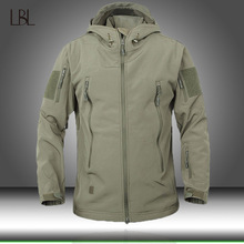 Armee Camouflage Männer Jacke Militärische Taktische Jacken Herren Soft Shell Wasserdicht Winddicht Jagd Jacke Mantel Regenmantel Mann Kleidung