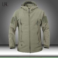 Army Camouflage Men Jacket Military Tactical Jackets Mens Soft Shell Waterproof Windproof Hunt Jacket Coat Raincoat Man Clothing