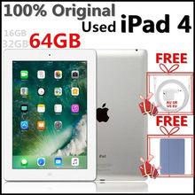 (USED IPad4)100% Original Apple IPad 4 16GB 32GB 64GB,9.7