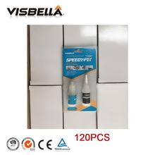 VISBELLA 120pcs Powder Adhesive Glue 7 Second Speedy Fix Quick Repair Filling Dual Resin Instant Welding Kit Sealers Caulk
