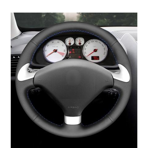 capa de volante do carro couro