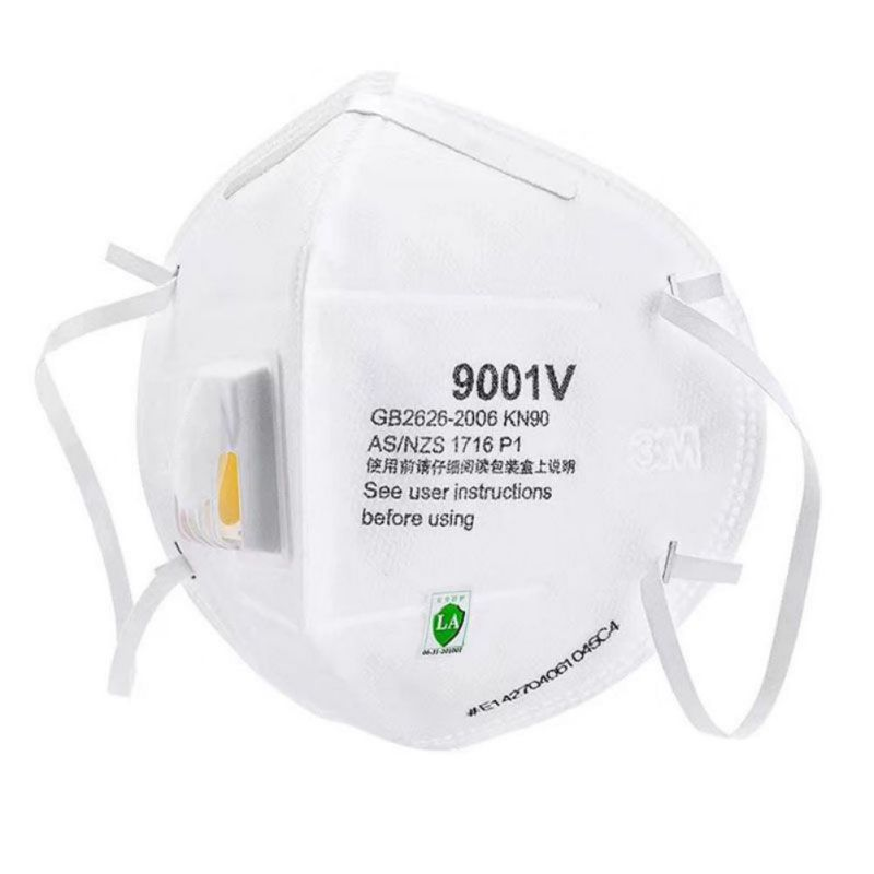 N95 9001V Particulate Respirator Surgical Face Mask Breathable Comfortable Masks With Cool Flow Valve For Blocking Dust Air Poll