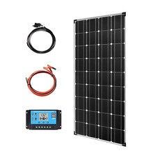 Boguang panneau solaire 120w kit 18v cellule monocristallin efficace pour 12V chargeur de batterie chine russie Spian entrepôt en gros