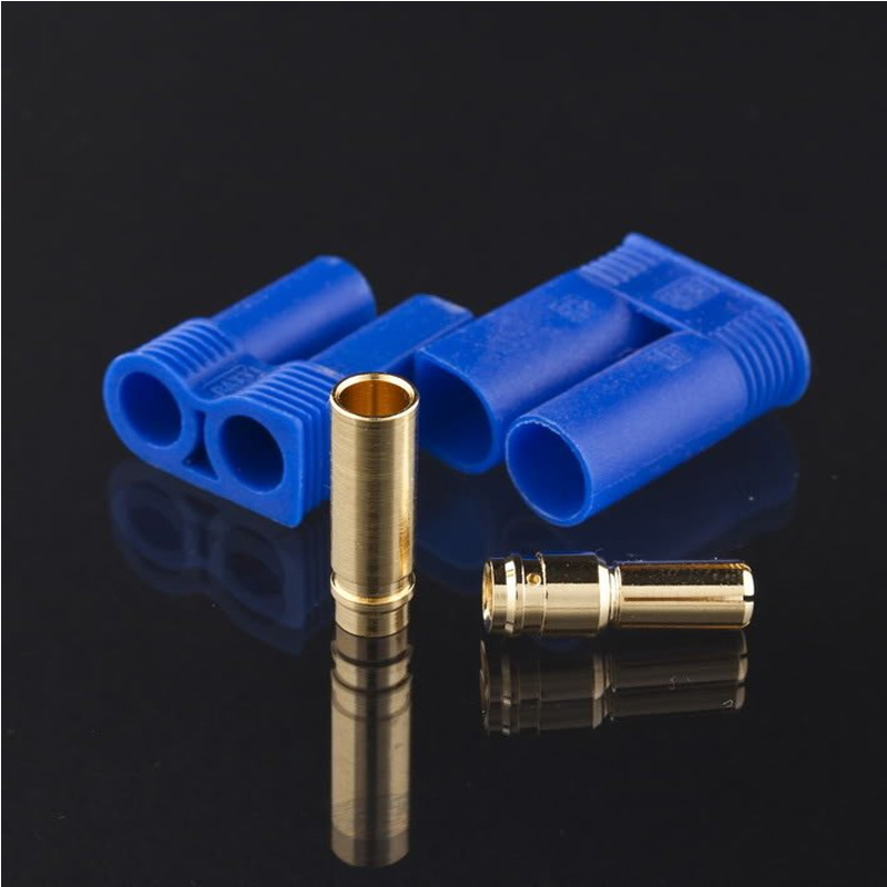 5pair Male Female EC3 3mm EC5 Type Battery Connector Gold Battery Connector Bullet Plug PTCT Battery Terminal Connector