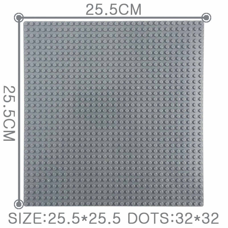 Lockings City Technic 32*32 Dots Base Plate Bricks Baseplate Board Friends Girls Figures Model Building Blocks Birthday Lockings