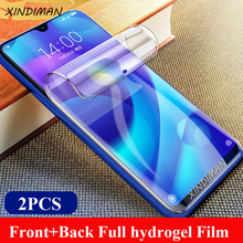 XINDIMAN 25D Hydrogel Film for xiaomi play Front+Back full screen protector 8 8se 8lite 5splus A3 A3lite