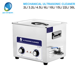 SKYMEN Mechanische Knop Ultrasone Reiniger Bad 2L/3.2L/4.5L/6L/10L/15L/22L/ 30L onderdelen schoner ultrasone reiniger