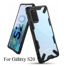 Ốp Lưng Ringke Fusion X Cho Galaxy S20 Ốp Lưng Chống Sốc Trong Suốt Cứng PC Lưng TPU Mềm Khung Cho Galaxy S20 Bao
