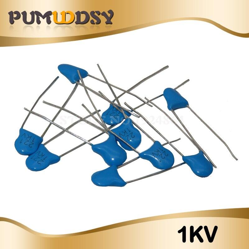 20pcs High Voltage Ceramic Capacitor1KV 2KV 3KV 5PF 30PF 47PF 56PF 100PF 220PF 1NF 2.2NF 3.3NF 4.7NF 10NF 100NF 471 222 223 103