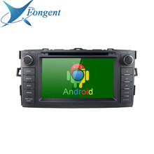 Android 9.0 ünitesi 2din araba radyo Toyota Auris 2008 2009 2010 2011 2012 GPS navigasyon DVD Bluetooth SWC ses araba multimedya(China)