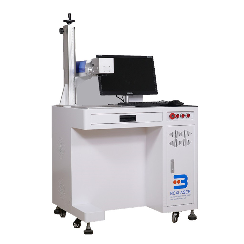 High Precision Fiber Laser Marking Machine Marker On Mental With Favorable Price
