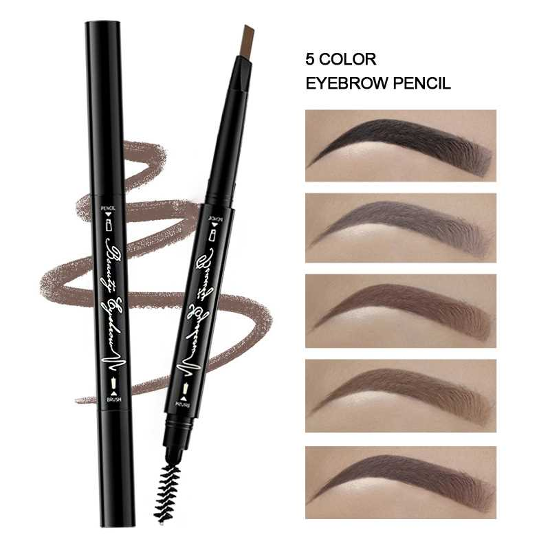 Image 2 - Joomer Waterproof Natural Eyebrow Paint Pen Eye Brow Tint Tattoo Pen Makeup Eyebrow Pencil With Brush Make Up Cosmetics-in Eyebrow Enhancers from Beauty & Health