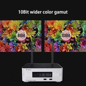 Image 4 - Zidoo Z10 4K Media Player אנדרואיד 7.1 חכם הטלוויזיה Box 2G 16G DDR ממיר 10Bit HDR כפול WiFi USB 3.0 BT 4.0 עם מתנה חינם