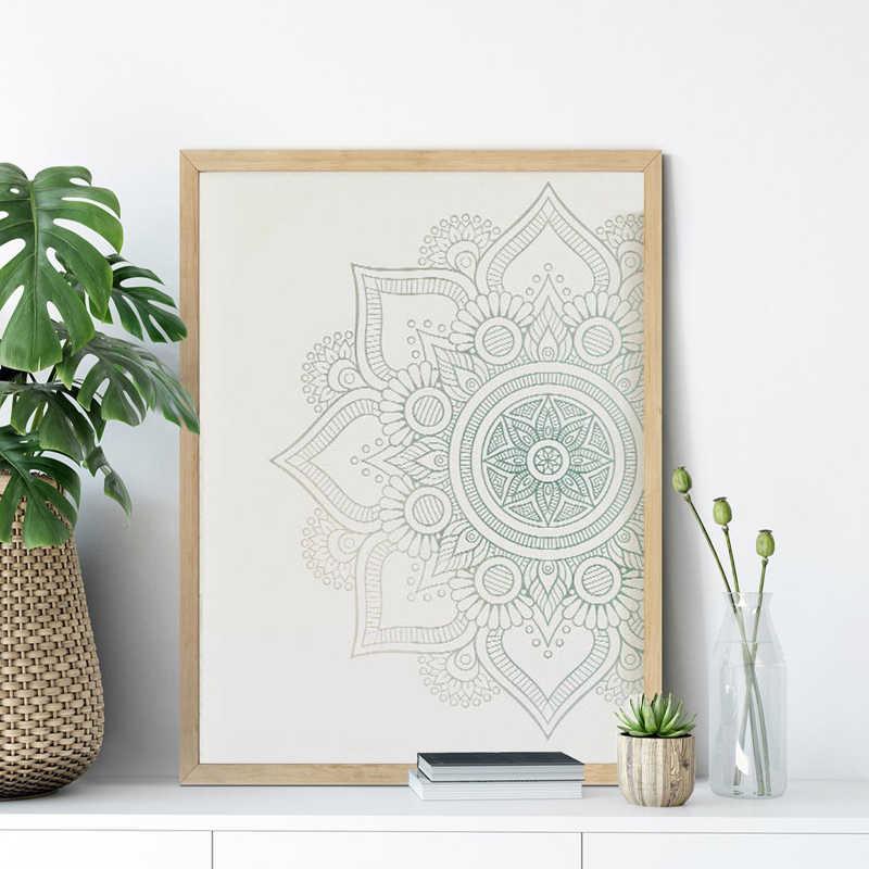 Art print wall decoration Wallart Mandala mindful picture wall hanging