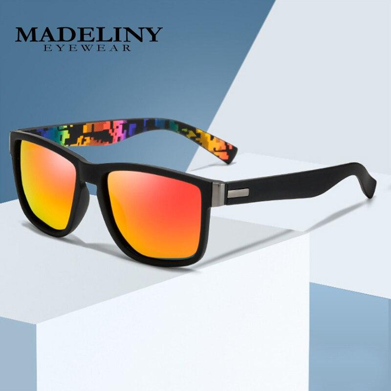 2021 Brand Design Polarized Sunglasses Men Driver Shades Male Driving Travel Fishing Sun Glasses Square Eyewear UV400 MA350