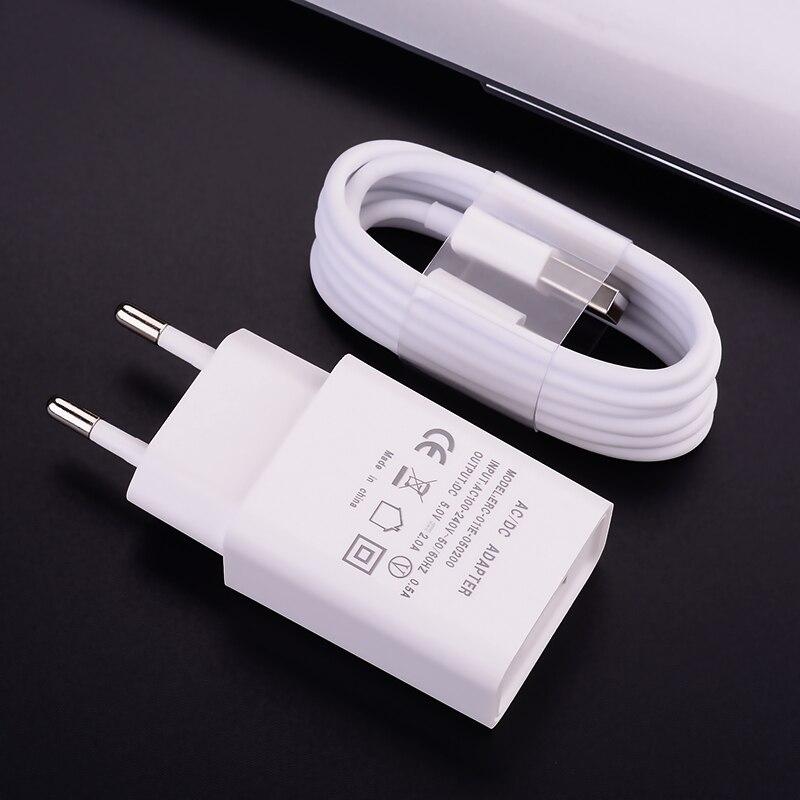 5v 2a carregador cabo xiaomi redmi nota 9 8t carregamento rápido usb carregador de telefone de parede para samsung huawei micro cabo usb tipo c adaptador