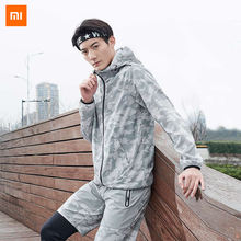 Xiaomi Youpin ULEEMARK Men's Light Camouflage Quick-dry Running Jacket Breathable sports jacket Xiomi(China)
