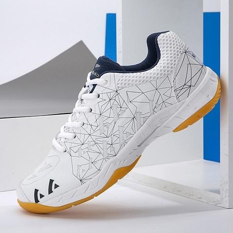 Sapatos para Badminton Masculino Feminino Badminton Sapatos Respirável Tênis Profissão Competição Esporte Voleibol 2020