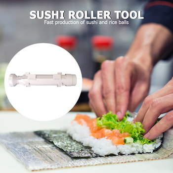 Japanese Cuisine Rice Ball Mold Tool Portable Sushi Maker Bazooka Sushi Mold for Household Kitchen Convenient Part image
