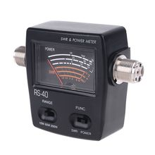 NISSEI RS40 Power SWR Meter RS Measurable Up to 200W Power Range with Adapter