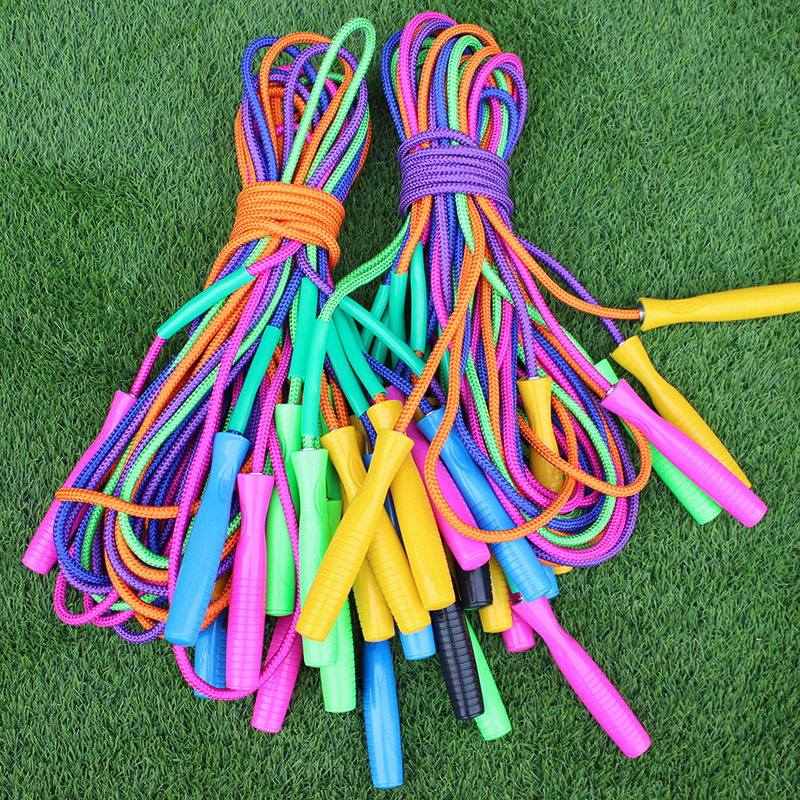 Plastic Skipping Rope Physical Education Supplies Jump Rope Sports Students Jump Rope