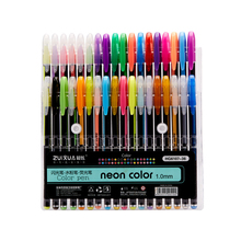 Glitter-Gel-Pen Highlighter Coloring-Books Painting Art-Markers Journals Drawing Colored