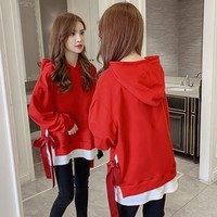 spring autumn new Women's Clothing hoodies casual style clothes loose hooded pullovers fashion brand Sweatshirts Hipster tops