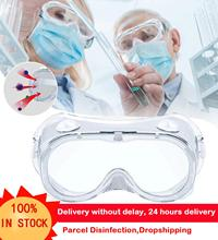 Car Goggles Motorcycle Goggles Protective Safety Goggle Wide Vision Disposable Indirect Vent Anti-Fog  Antibacter Splash Goggles