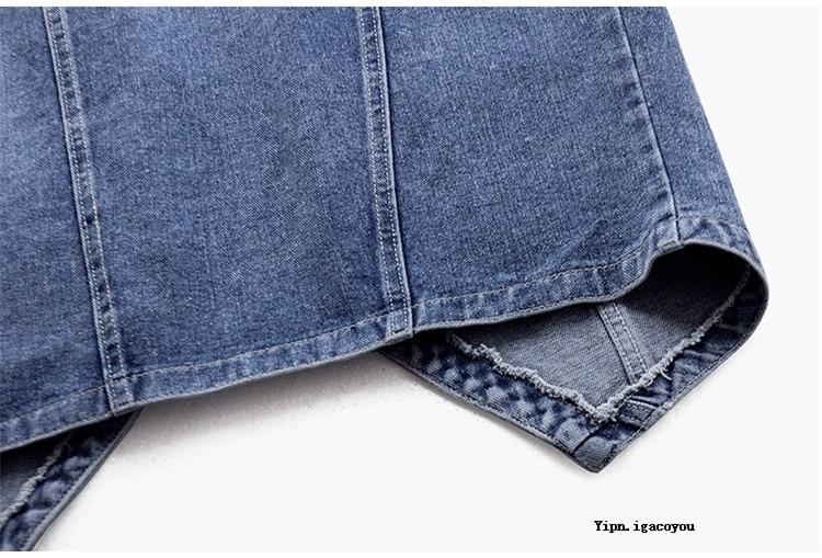 verão casual bolso jeans coletes feminino com