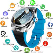 2021 nowe połączenie Bluetooth inteligentny zegarek mężczyźni 8G karta pamięci odtwarzacz muzyczny smartwatch dla androida telefon z ios wodoodporna opaska monitorująca aktywność fizyczną tanie tanio GEJIAN CN (pochodzenie) Brak Na nadgarstek Zgodna ze wszystkimi 128 MB Krokomierz Rejestrator aktywności fizycznej
