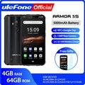 Ulefone Armor 5S водонепроницаемый IP68 NFC прочный мобильный телефон MT6763 Otca-core Android 9 0 4 Гб + 64 Гб Беспроводная зарядка 4G LTE смартфон