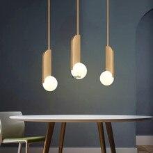 Modern Luxury LED Glass Round Ball Pendant Lights Lighting Nordic Loft Cafe Restaurant Bedroom Bedside Aisle Decor Light Fixture