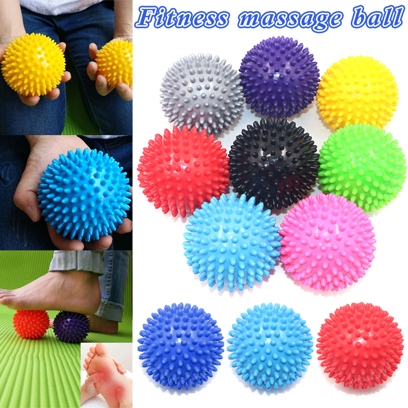 High Quality Massage Ball Roller PVC Stress Relief for Body Yoga Fitness Pilates Muscle Foot NCM99