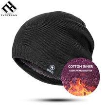 Gorro de inverno chapéus & bonés de lã de malha masculina casual unissex cor sólida hip-hop skullies gorro gorro quente masculino