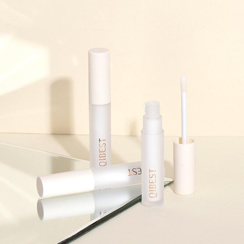 Qibest manteiga de karité bálsamo labial hidratante anti-secagem reparação lábio linha batom matte labial creme primer anti-envelhecimento tslm1