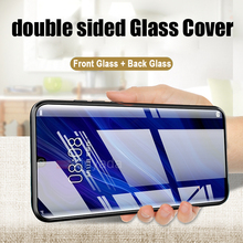 double sided Tempered Glass Cover Case For OnePlus