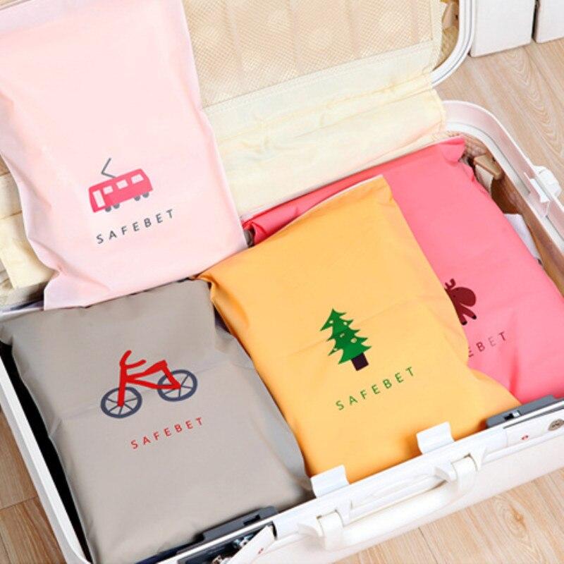 Модные дорожные сумки для хранения, органайзер на молнии для нижнего белья, носков, обуви, сумка для хранения одежды, сумка на молнии