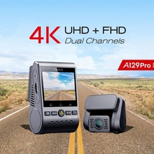 Dash-Cam A129 VIOFO HK3 Night-Vision Ultra-Hd Super Dual 4K Pro for Road-Front-Newest