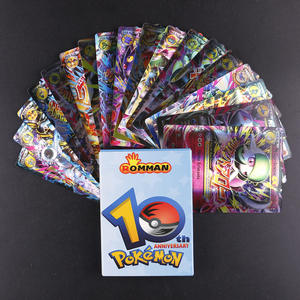 Toy Card-Game French-Card Carte Battle Trading Pokemon MEGA 18pcs No-Repeat Shining Children