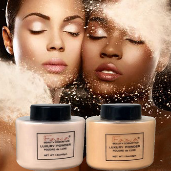 Face Foundation Powder Oil Control Contour Full CoverBanana Powder Translucent Mineral Makeup Base Matte Foundation Make Up