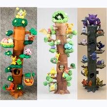 Покемон игрушки Дерево пень Карманный Монстр Пикачу splice лес