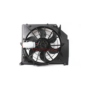 Koelventilator voor BMW E46 316i 318i 320i 323i 325i 328i 330i, Condensor elektronische fan, water tank fan voor BMW E46 316i 318i 320i