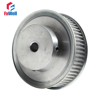 70T HTD5M Timing Pulley 21mm Belt Width Gear Pulley 15mm Bore 5mm Teeth Pitch 70Teeth Aluminum Alloy Timing Belt Pulley